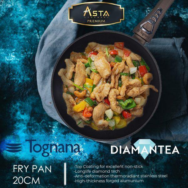 Fry Pan Premium Diamantea Tognana 20 CM - Asta Premium