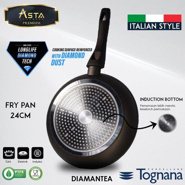 Fry Pan Premium Diamantea Tognana - Asta Premium