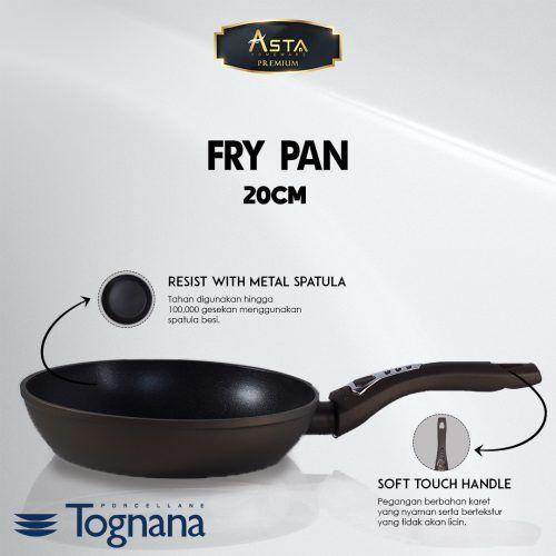 Fry Pan Premium Diamantea Tognana 20CM - Asta Premium