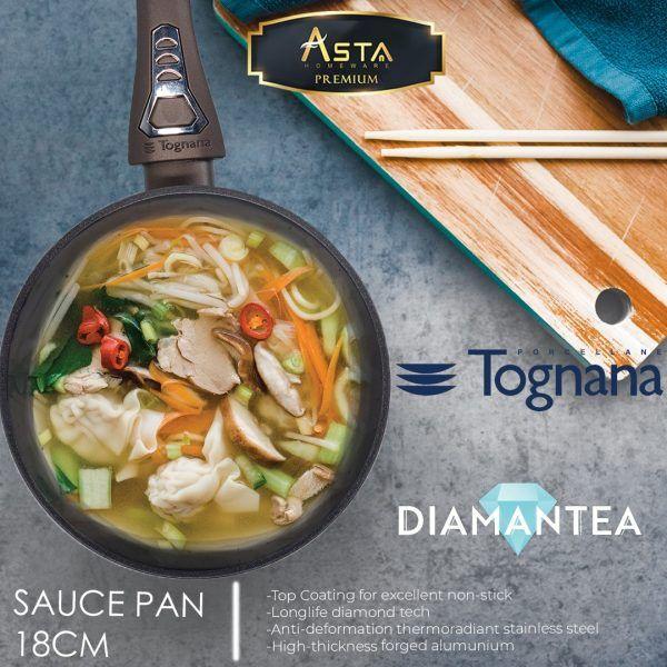 Diamantea Sauce Pan 18CM Tognana - Asta Premium