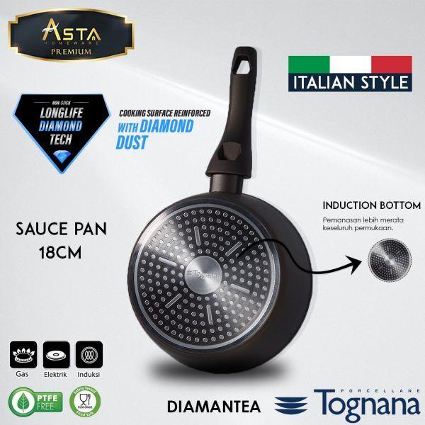 Diamantea Tognana Sauce Pan 18CM Tognana - Asta Premium