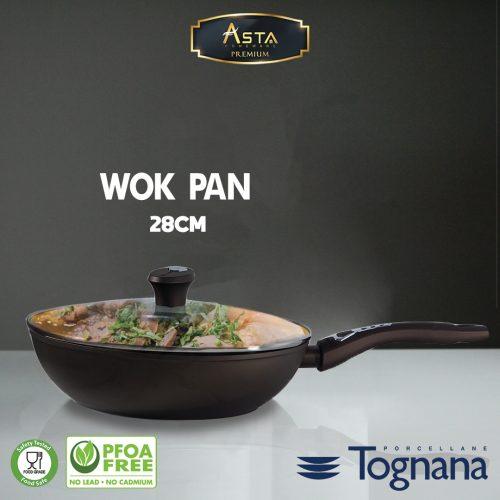Wok Pan 28 CM Premium Tognana - Asta Premium