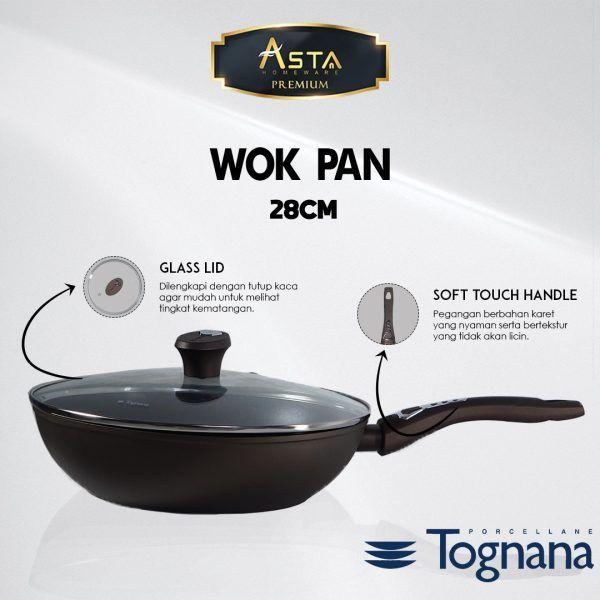 Wok Pan Premium Tognana 28 CM