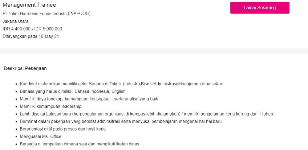 Prospek Kerja Manajemen Account Officer