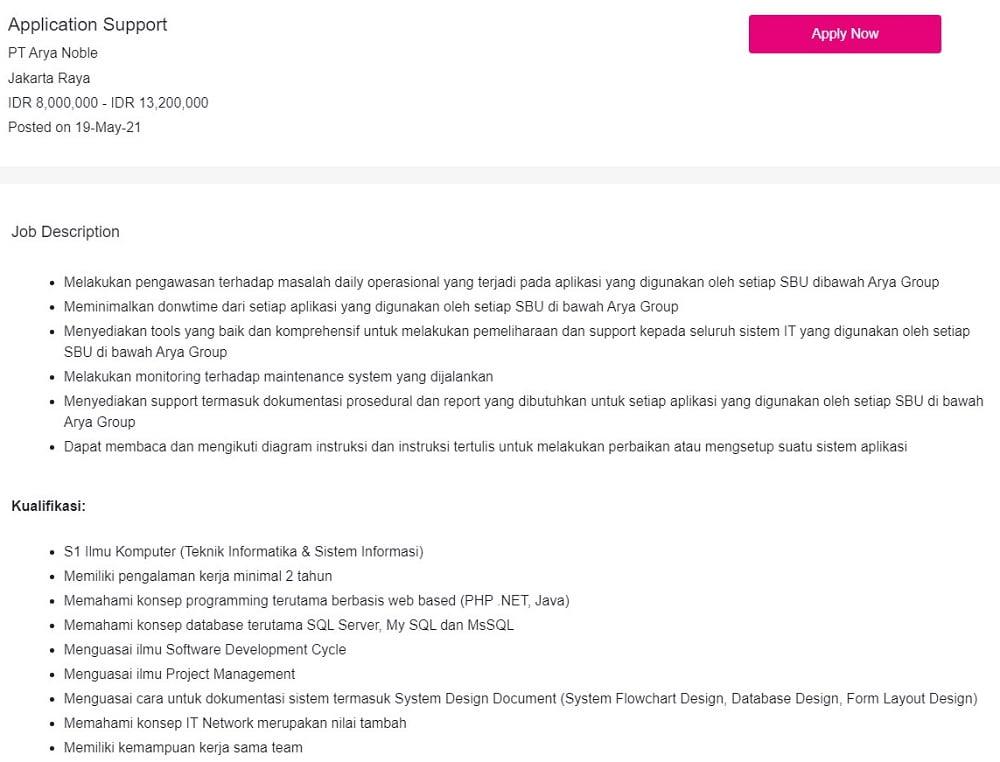Prospek Kerja Sistem Informasi IT Project Manager