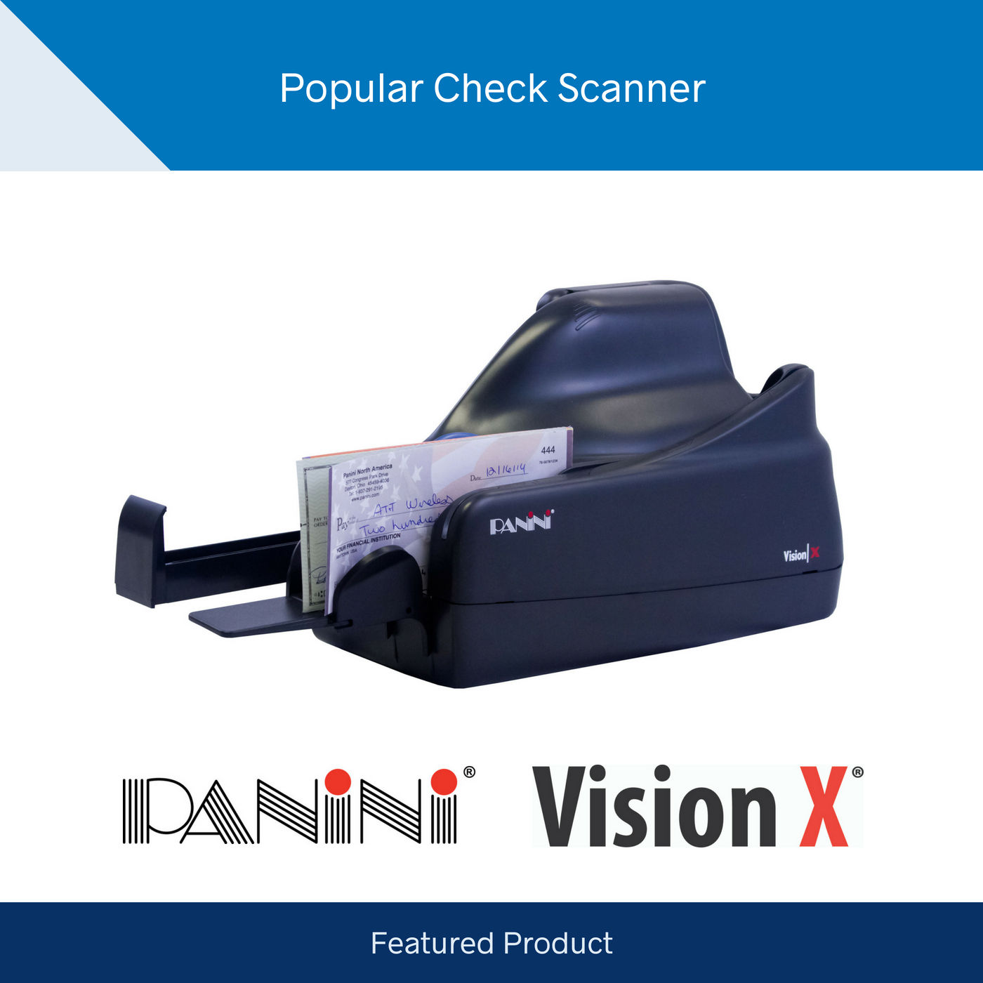Panini Vision X Scanner