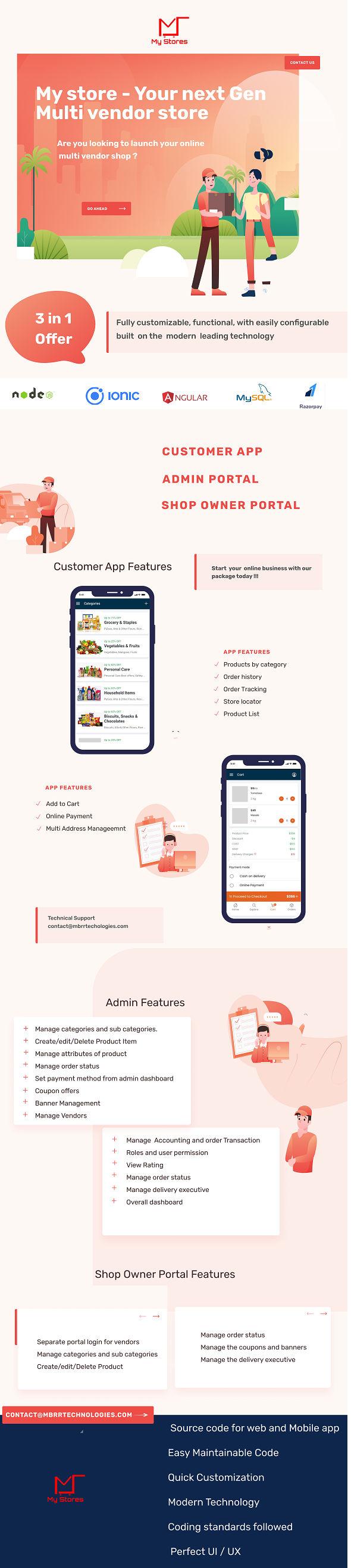 Mystore - Next Gen Multi vendor store - 1