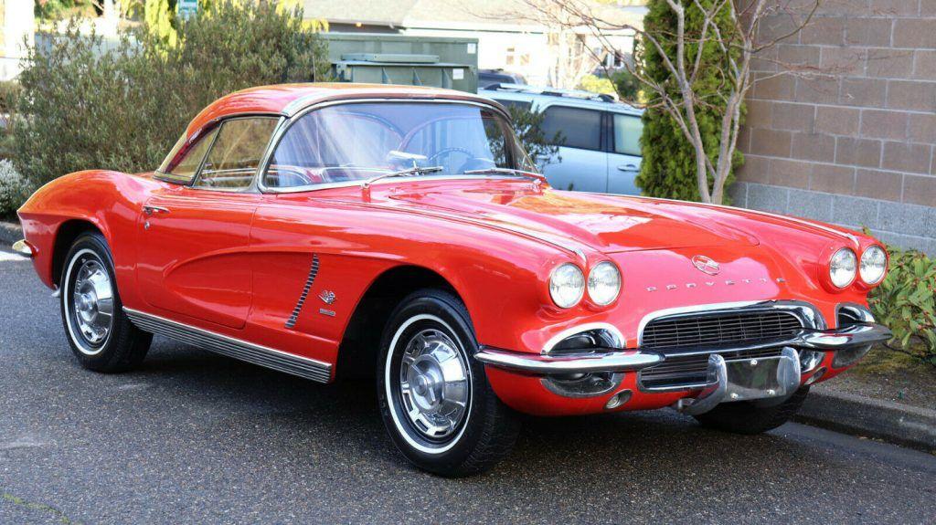 1962 Chevrolet Corvette Convertible Fuel Injection 4sp