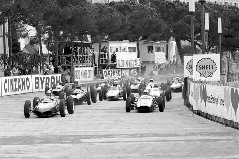 Ferrari's Mairesse shot into the lead at the start