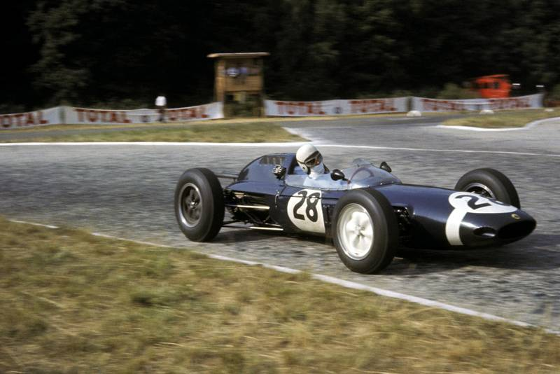 Trintignant could only manage 13th on the grid in the Rob Walker Lotus