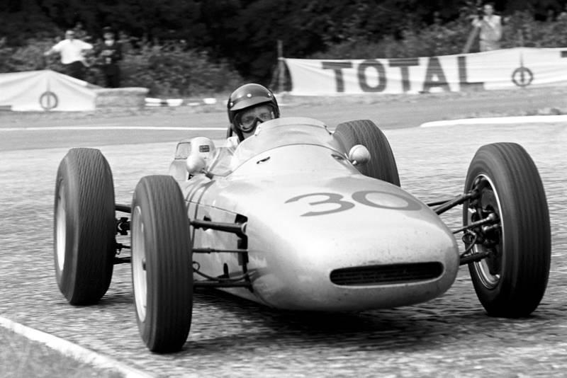 Dan Gurney took his and Porsche's debut win