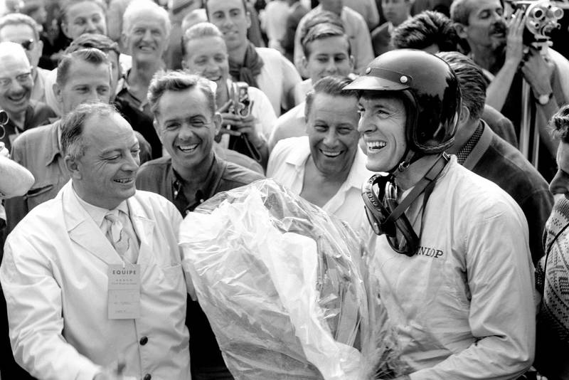 Gurney show delight at winning his first GP