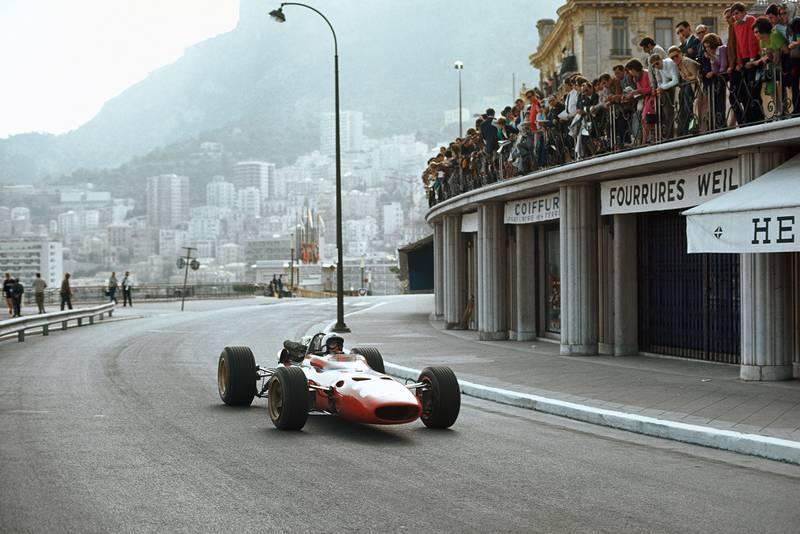 Chris Amon, Ferrari 312.