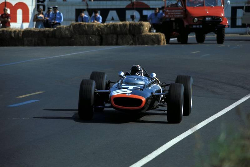 Jackie Stewart (GBR) BRM P261