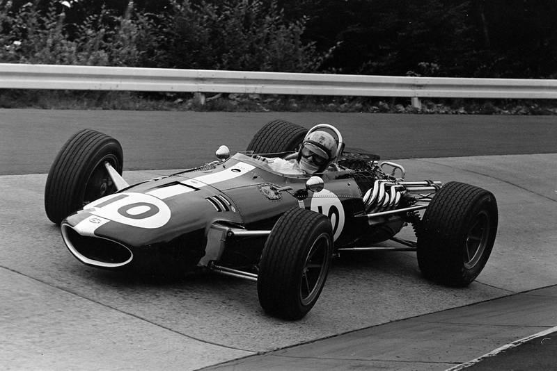 Bruce McLaren, Eagle T1G Weslake.