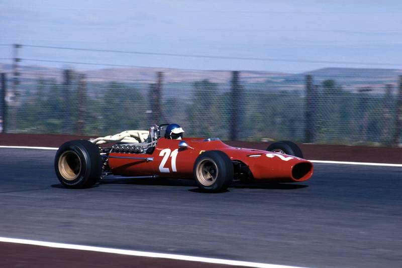 Jacky Ickx (BEL) Ferrari 312.