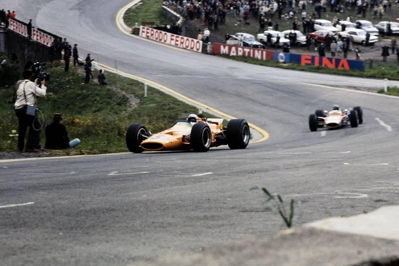 1968 Belgian GP McLaren 2