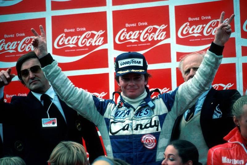 Winner Didier Pironi (Ligier JS11/15), his first GP victory.