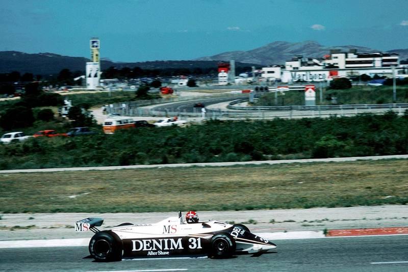 Eddie Cheever in a Osella FA1.