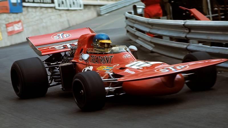 Ronnie Peterson, 1971 Monaco GP