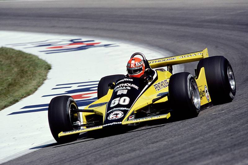 Rupert Keegan in a Williams FW07B Ford.