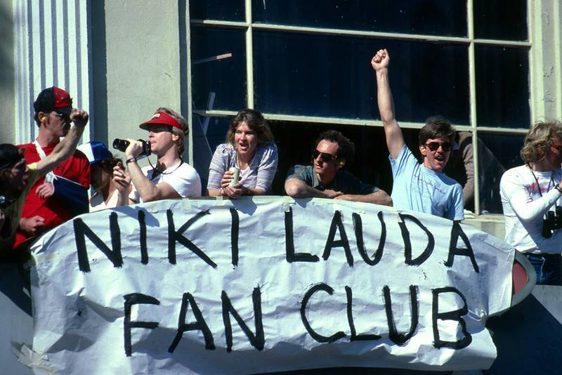 Members of the Niki Lauda Fan Club were rewarded with a victory for their hero.
