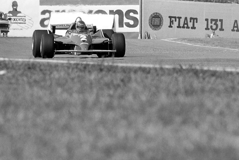 Gilles Villeneuve tested the turbocharged Ferrari 126C on the opening day of practice before reverting to his regular car. He crashed spectacularly on lap 6 of the race but escaped uninjured.