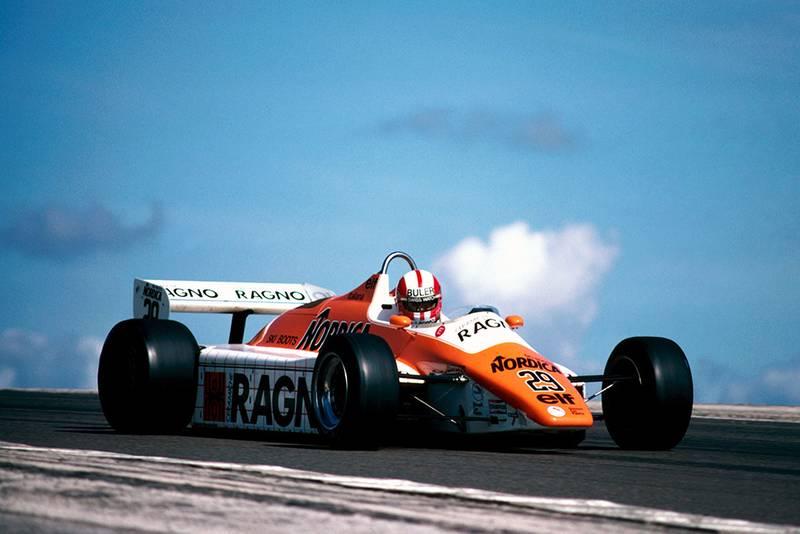 Marc Surer in his Arrows A5.
