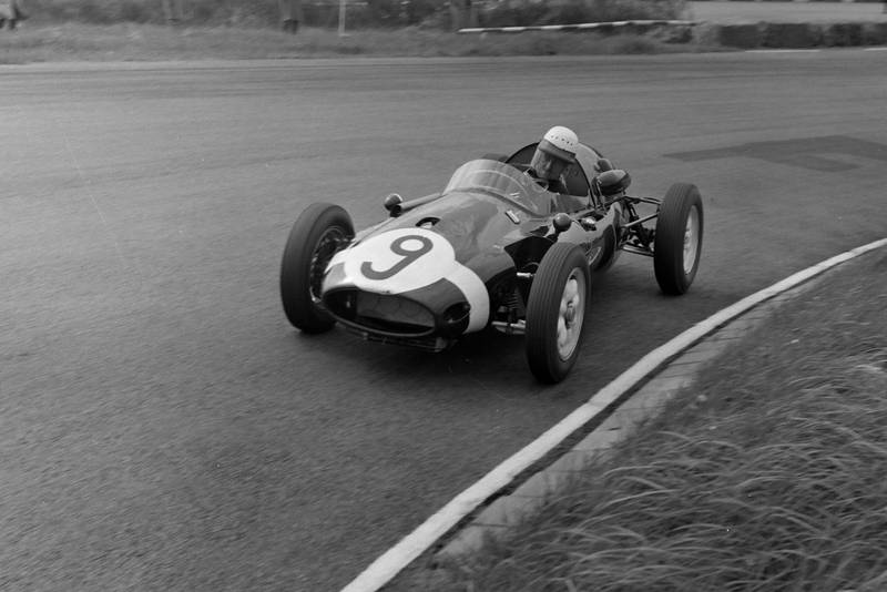 Maurice Trintignant in his Cooper T45 Climax