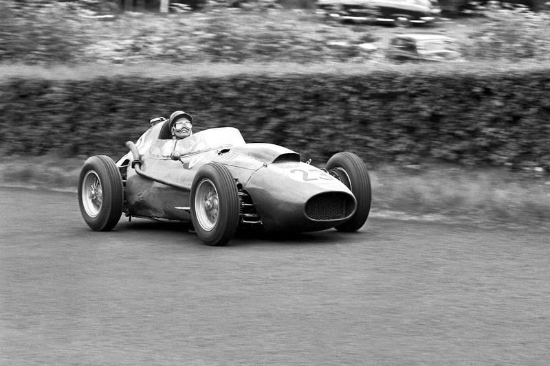 Phil Hill in his Ferrari Dino 156