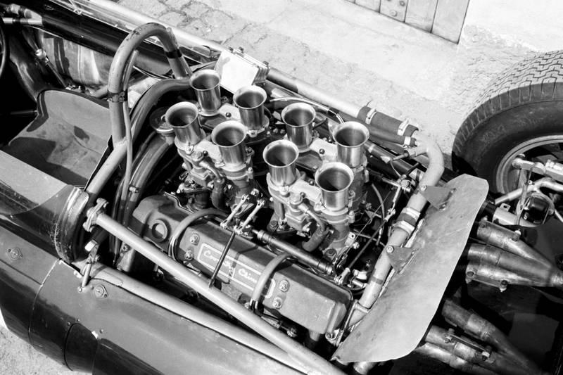 Jack Brabham's Cooper T58 Climax V8.