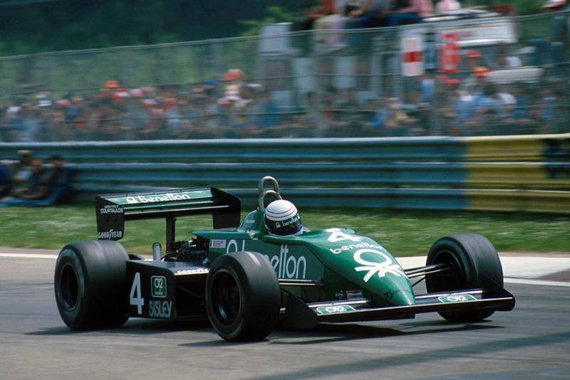 Danny Sullivan in his Tyrrell 011.