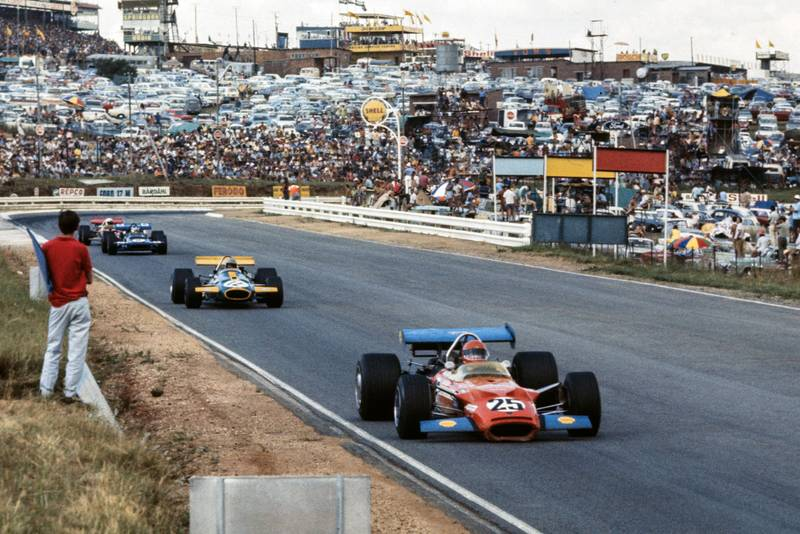 John Love leads the pack in his Lotus
