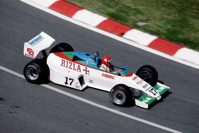 Eliseo Salazar in a Ram March 01 Ford.