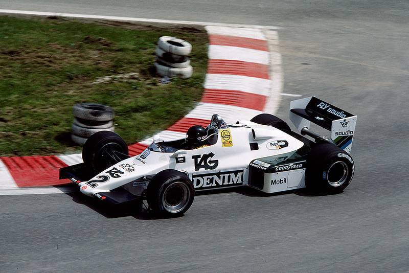 Jacques Laffite (Williams FW08C Ford) who finished 6th.
