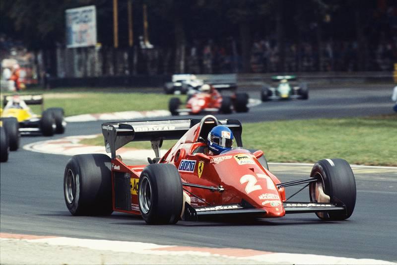 Patrick Tambay in his Ferrari 126C3.