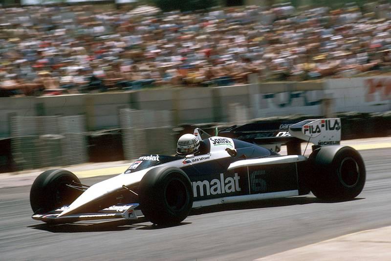 Brabham's Riccardo Patrese took his second career win
