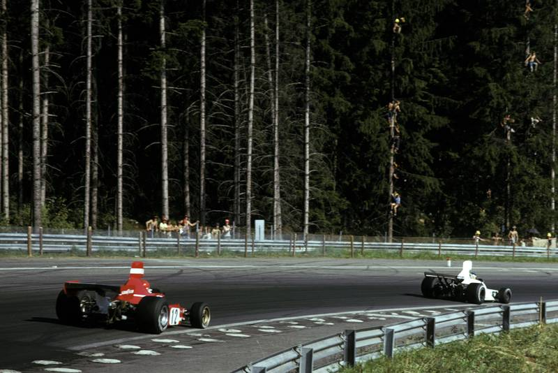 1974 Austrian GP race 2