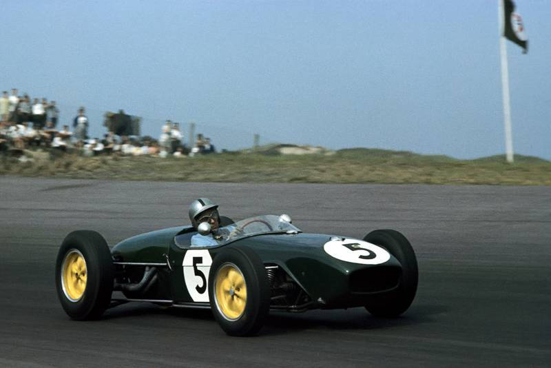 Alan Stacey at the 1960 Dutch Grand prix