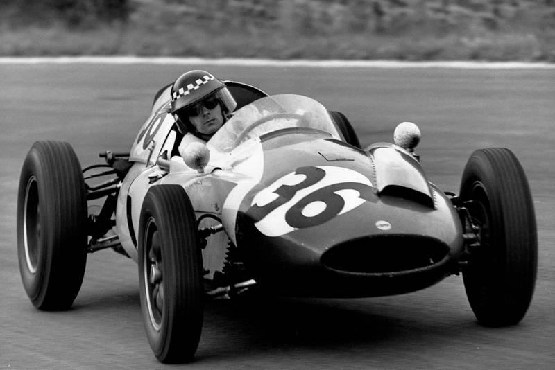 Chris Bristow at the 1960 Belgian Grand Prix