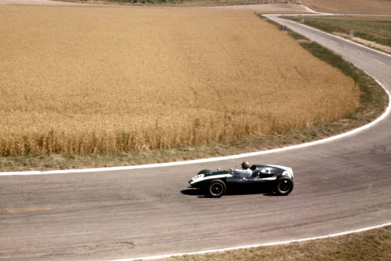 Jack Brabham in his Cooper T51 Climax.