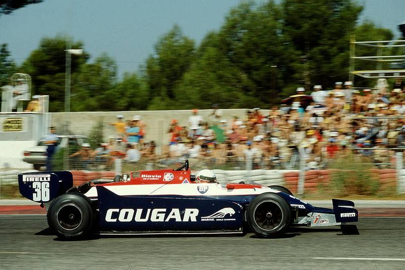 Teo Fabi driving a Toleman TG181C Hart.