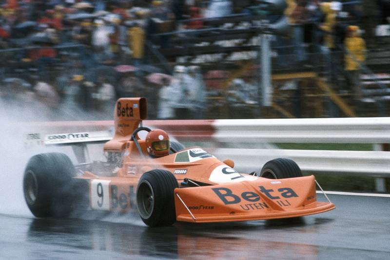 Vittorio Brambilla in his March at the 1975 Austrian Grand Prix, Osterreichring