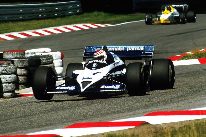 Nelson Piquet in his Brabham BT53, retired on lap 23.