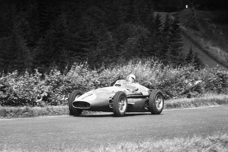 Moss 2 1956 German GP