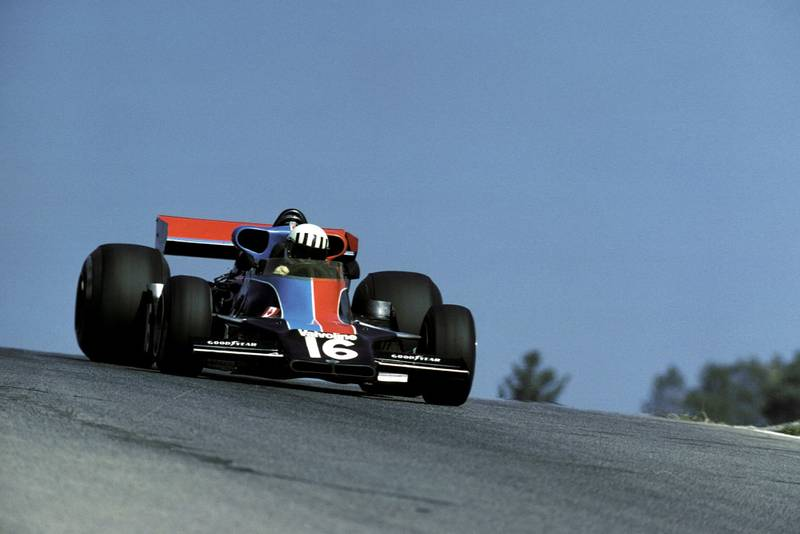 Tom Pryce (Shadow) at the 1976 Canadian Grand Prix, Mosport Images.