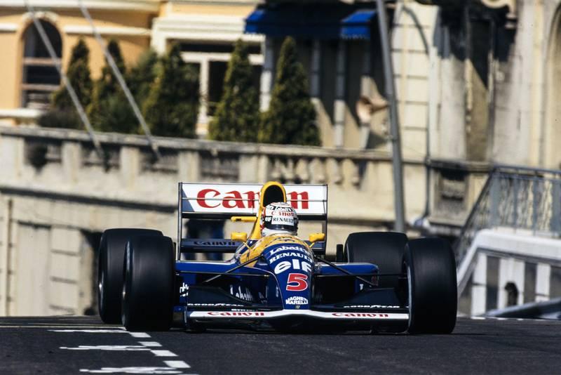 Mansell91Monaco