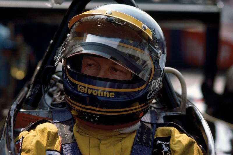 Ronnie Peterson at the 1978 Italian Grand Prix, Monza.