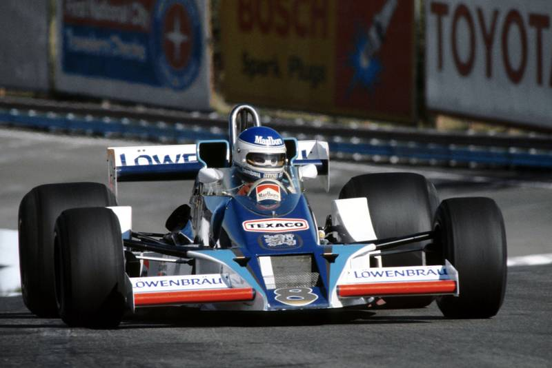Patrick Tambay (McLaren) at the 1978 United States Grand Prix East, Watkins Glen.