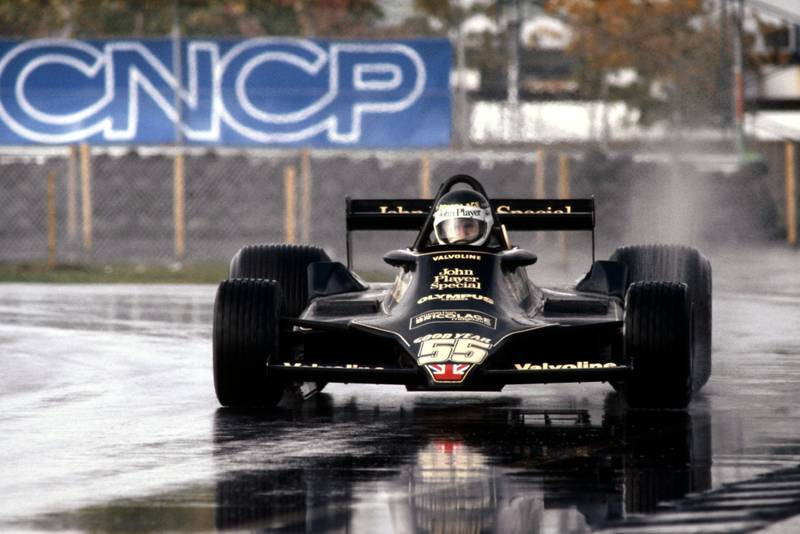 Jean-Pierre Jarier (Lotus) driving for Lotus at the 1978 Canadian Grand Prix, Montreal.